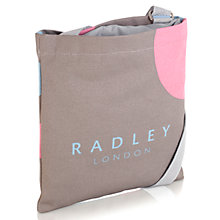 Buy Radley Romney Road Canvas Drawstring Across Body Bag, Natural Online at johnlewis.com