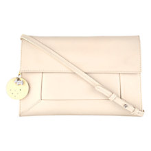 Buy Radley Border Large Leather Clutch Bag, Ivory Online at johnlewis.com