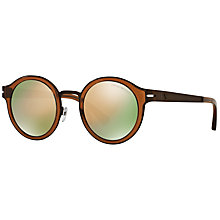 Buy Emporio Armani EA2029 Round Sunglasses Online at johnlewis.com