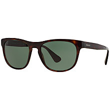 Buy Prada PR14RS Square Framed Sunglasses Online at johnlewis.com