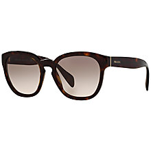 Buy Prada PR17RS Square Sunglasses Online at johnlewis.com