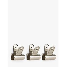Buy Umbra Clipper Hooks, Set of 3 Online at johnlewis.com
