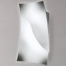 Buy Philips LED Feuille Wall Light, Chrome Online at johnlewis.com