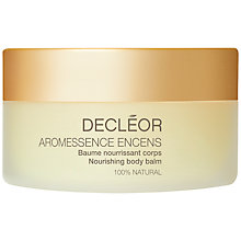 Buy Decléor Aromessence Encens Nourishing Body Balm, 125ml Online at johnlewis.com