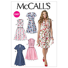 Buy McCall's Women's Dress Sewing Pattern, 6503 Online at johnlewis.com