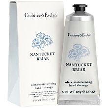 Buy Crabtree & Evelyn Nantucket Briar Hand Cream, 100g Online at johnlewis.com