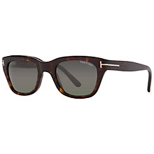 Buy TOM FORD FT0237 Snowdon Hollywood Square Sunglasses Online at johnlewis.com