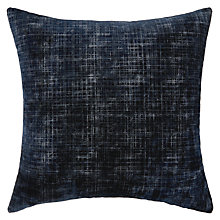 Buy John Lewis Bordoni Cushion, Sapphire Online at johnlewis.com