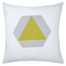Buy John Lewis Iso Triangle Cushion Online at johnlewis.com