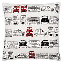 Buy John Lewis London Buses & Taxis Cushion Online at johnlewis.com