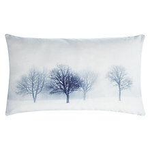 Buy John Lewis Frosty Tree Scene Cushion Online at johnlewis.com