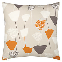 Buy John Lewis Elin Cushion, Black / White Online at johnlewis.com