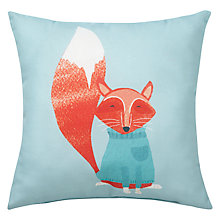 Buy John Lewis Christmas Fox Cushion Online at johnlewis.com