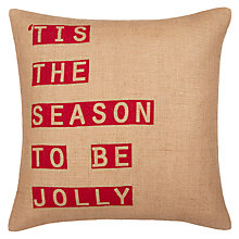 Buy John Lewis 'Tis The Season Cushion Online at johnlewis.com