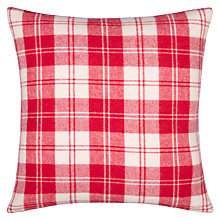 Buy John Lewis Winter Check Cushion Online at johnlewis.com
