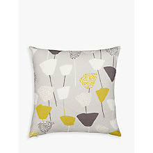 Buy John Lewis Elin Cushion, Citrine / White Online at johnlewis.com