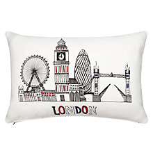 Buy John Lewis London Skyline Pillow Online at johnlewis.com