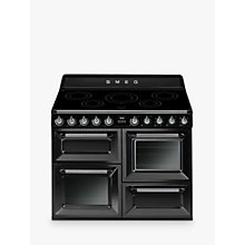 Buy Smeg TR4110I 110cm Victoria Range Cooker with Induction Hob Online at johnlewis.com