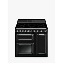 Buy Smeg TR93I Victoria Range Cooker with Induction Hob Online at johnlewis.com