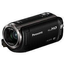 "Buy Panasonic HC-W570 HD 1080p Twin Camcorder, 2.2MP, 50x Optical Zoom, Wi-Fi, NFC, 3"" LCD Screen Online at johnlewis.com"