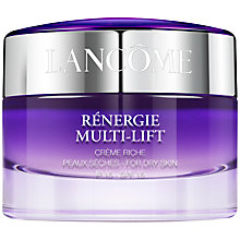 Buy Lancôme Rénergie Multi-Lift Creme Riche SPF 15, 50ml Online at johnlewis.com