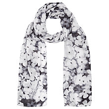 Buy Kaliko Forget Me Not Scarf, Multi Grey Online at johnlewis.com