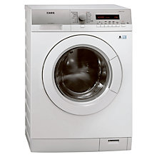Buy AEG L76285FL Freestanding Washing Machine, 8kg Load, A+++ Energy Rating, 1200rpm Spin, White Online at johnlewis.com