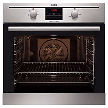 Buy AEG BE2003021M Single Oven, Stainless Steel Online at johnlewis.com