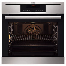 Buy AEG BP7304021M Integrated Single Electric Oven, Stainless Steel Online at johnlewis.com