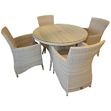 Buy 4 Seasons Outdoor Sheraton 4-Seater Round Dining Set Online at johnlewis.com