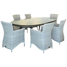 Buy 4 Seasons Outdoor Sheraton 6-Seater Oval Dining Set Online at johnlewis.com