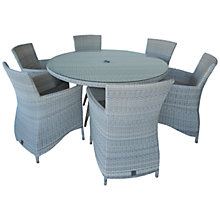 Buy 4 Seasons Outdoor Sheraton 6-Seater Round Dining Set Online at johnlewis.com