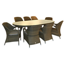 Buy 4 Seasons Outdoor Sussex 8-Seater Oval Dining Set Online at johnlewis.com