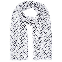 Buy Planet Spot Scarf, Multi Blue Online at johnlewis.com