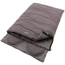 Buy Outwell Contour Lux Double Sleeping Bag, Grey Online at johnlewis.com