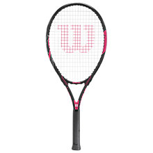 Buy Wilson Hope Adult Tennis Racket, Pink/Black Online at johnlewis.com