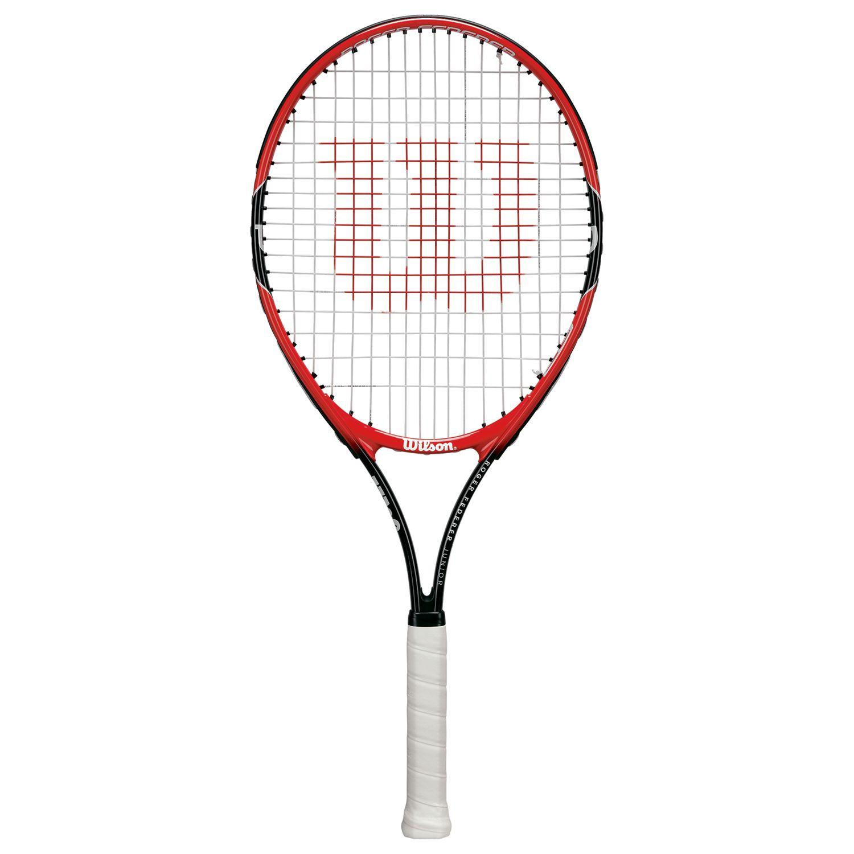 Wilson Wilson Roger Federer 25 Junior Tennis Racket, Red/Black