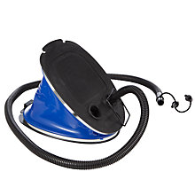 Buy Outwell 5L Foot Pump, Black/Blue Online at johnlewis.com
