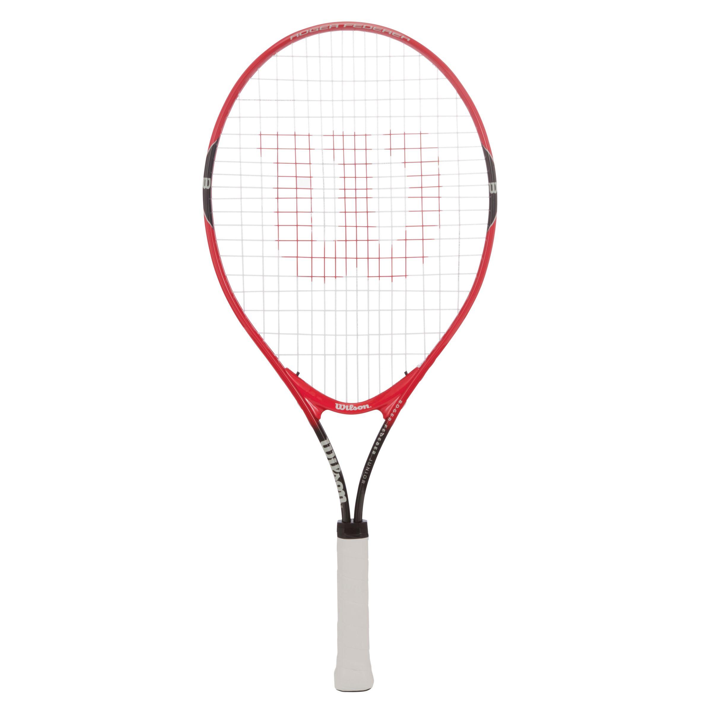 Wilson Wilson Roger Federer 25 Junior Tennis Set, Red/Black