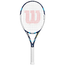 Buy Wilson Juice 100UL Tennis Racket, White/Blue Online at johnlewis.com