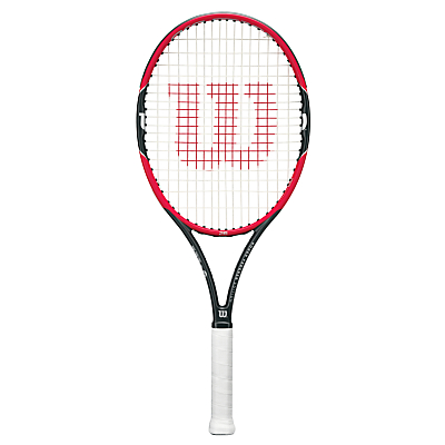 Wilson Pro Staff Roger Federer 26 Junior Tennis Racket, Red/Black