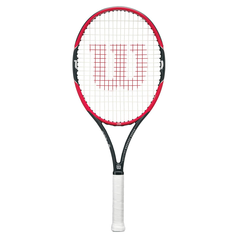 Wilson Wilson Pro Staff Roger Federer 26 Junior Tennis Racket, Red/Black