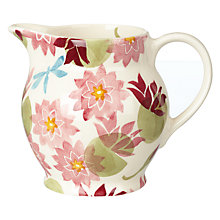 Buy Emma Bridgewater Water Lily Jug, 1/2pt Online at johnlewis.com