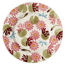 "Buy Emma Bridgewater Water Lily 8.5"" Plate Online at johnlewis.com"