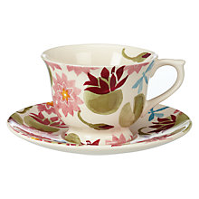 Buy Emma Bridgewater Water Lily Cup and Saucer, Small Online at johnlewis.com