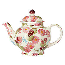 Buy Emma Bridgewater Water Lily 4 Cup Teapot Online at johnlewis.com