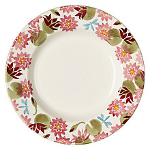 Buy Emma Bridgewater Water Lily Plate Online at johnlewis.com