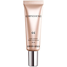 Buy Giorgio Armani Luminessence CC Cream, 30ml Online at johnlewis.com