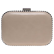 Buy Miss KG Hana Box Clutch Bag, Nude Online at johnlewis.com