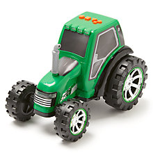 Buy John Lewis Rumble Tractor, Green Online at johnlewis.com
